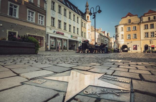 Opole - aleja gwiazd