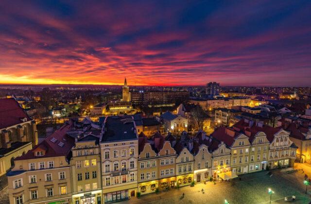 Opole Rynek oraz Wieża Piastowska