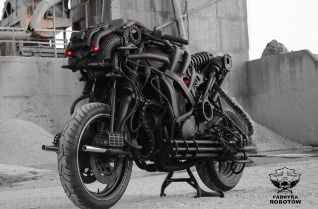 fabryka robotów - motor
