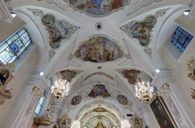 Sanktuarium na Górze Św. Anny wnętrze