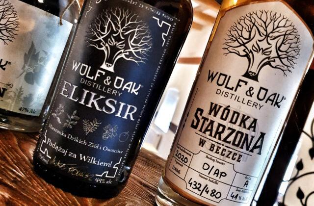 Wolf & Oak eliksir oraz wódka starzona