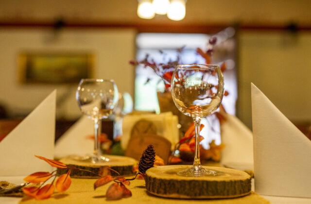 Restauracja Zamkowy Młyn wnętrza