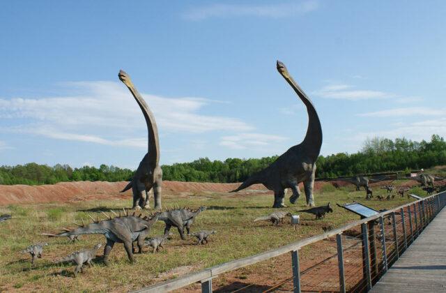 JuraPark Krasiejów - dinozaury