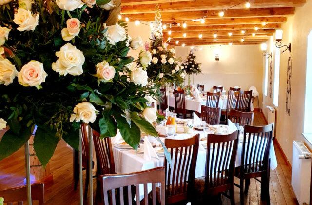rustykalne wesele - sala