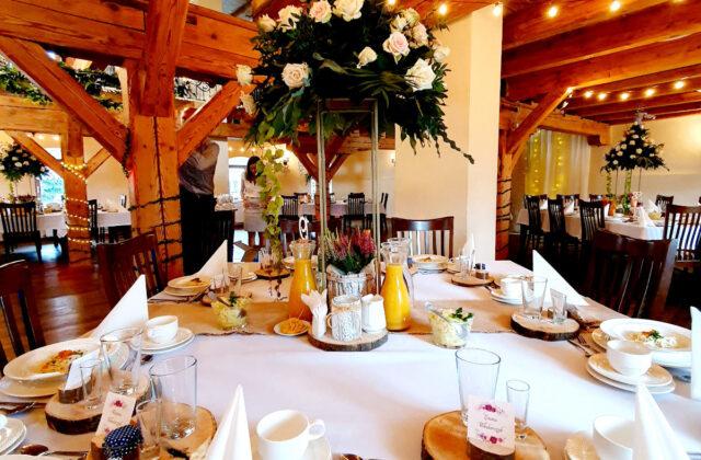 stół Gości sala weselna