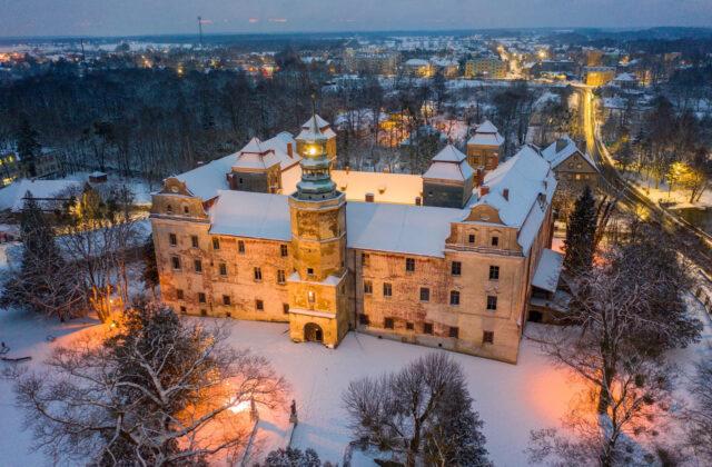 Zima w Zamku Niemodlin