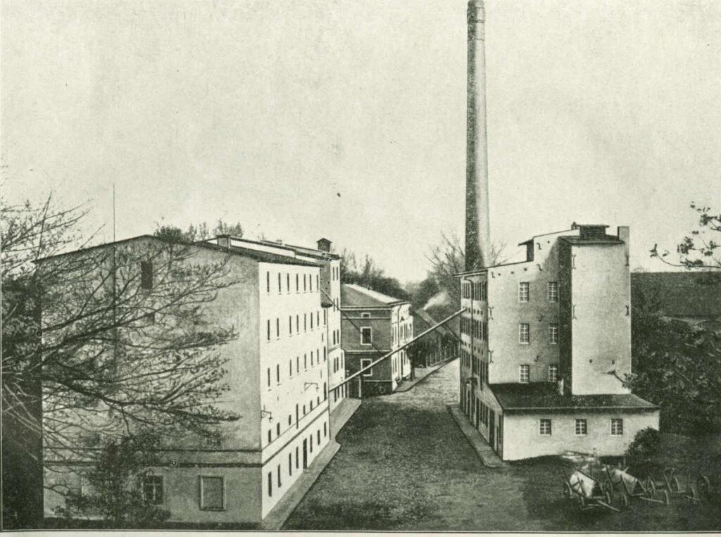 hotel zamkowy młyn dawniej, 1924 rok - młyn wodny